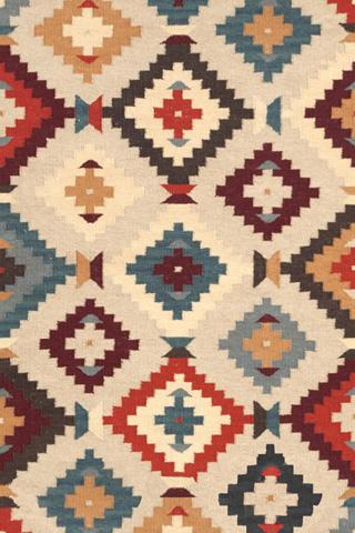 Dash & Albert Rug Company - Texcoco Kilim Wool Woven 8x10 Rug - RDA251-810