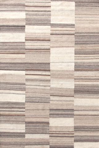 Dash & Albert Rug Company - Patched Melange Wool Woven 8x10 Rug - RDA303-810