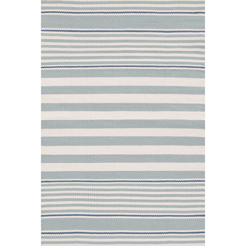 Dash & Albert Rug Company - Beckham Stripe Light Blue 8.5x11 Rug - RDB185-8511