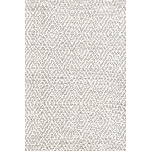Dash & Albert Rug Company - Diamond Platinum 8.5x11 Rug - RDB203-8511