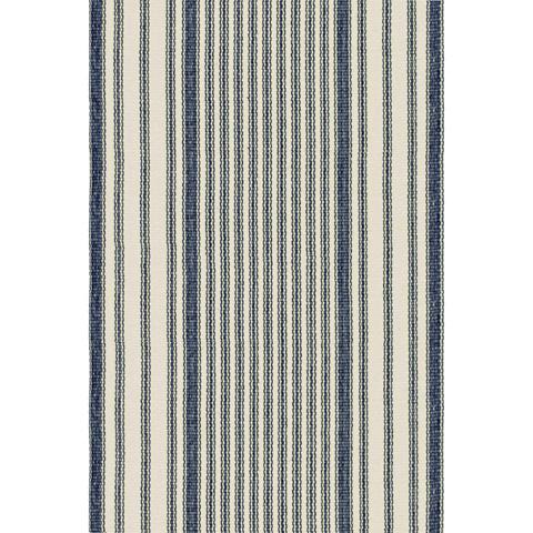 Dash & Albert Rug Company - Mattress Ticking Cotton Woven 8x10 Rug - RP36-810