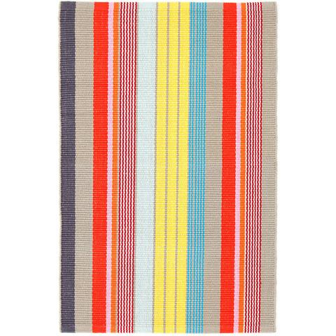 Dash & Albert Rug Company - Lyric Stripe Woven Cotton Rug - RDA367-810