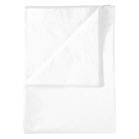 Designers Guild - Astor Bianco Alabaster Queen Flat Sheet - BEDDG0952