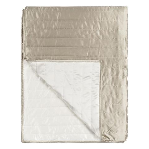 Designers Guild - Tiber Chalk Small Quilt - QUDG0018