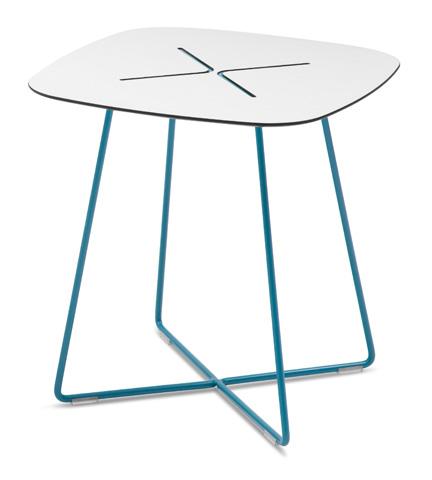Domitalia - Cross Square End Table - CROSS.C.05F.BL.HBI