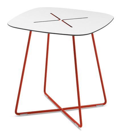 Domitalia - Cross Square End Table - CROSS.C.05F.RT.HBI