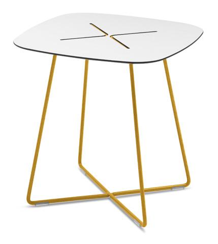Domitalia - Cross Square End Table - CROSS.C.05F.SE.HBI