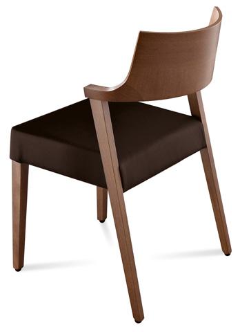 Domitalia - Lirica Side Chair - LIRIC.S.0K0.NC.NCNE