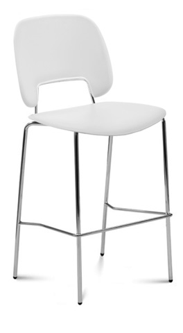 Domitalia - Traffic Stacking Barstool - TRAFF.R.A0F.CR.PBI