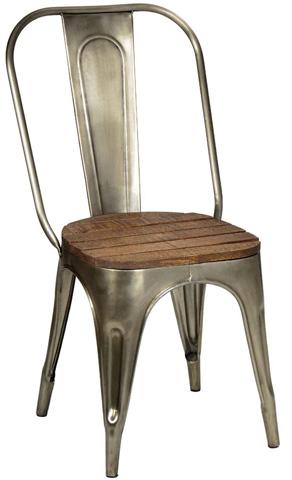 Dovetail Furniture - Industrial Chair - AK242