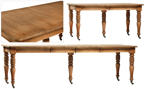 Dovetail Furniture - Chichester Dining Table - DOV5091