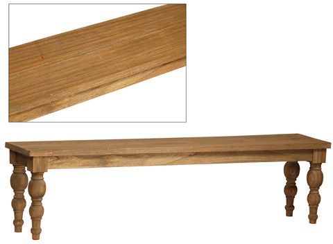 Dovetail Furniture - Campbell Bench - DOV7702
