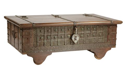 Dovetail Furniture - Malati Wheel Box - MA1111