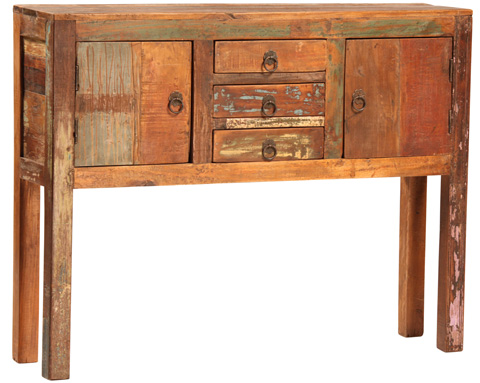 Dovetail Furniture - Nantucket Console - NE267