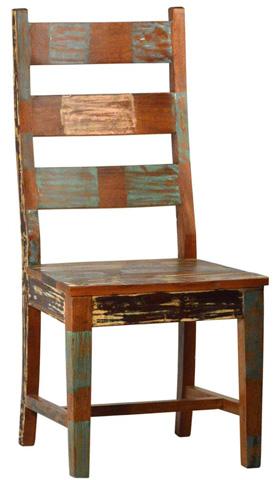 Dovetail Furniture - Nantucket Big Ladderback Chair - NE451
