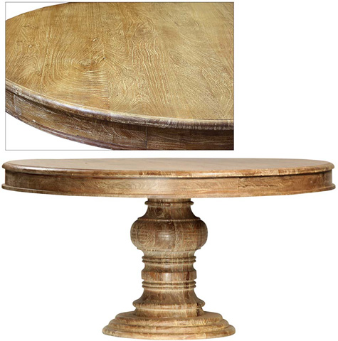 Dovetail Furniture - Sienna Casteli Dining Table - T195LT