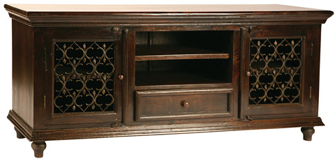 Dovetail Furniture - Santa Fe Plasma Stand - V235