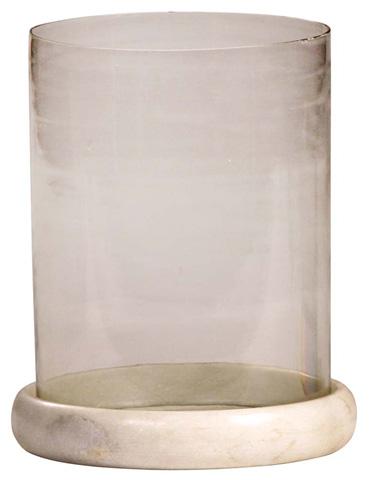 Dovetail Furniture - Glass Hundi With Base - AL278