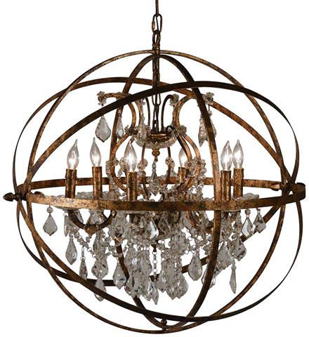 Dovetail Furniture - Nice Chandelier - DOV4704