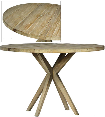Dovetail Furniture - Mallory Dining Table - DOV9826