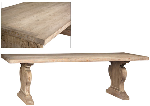Dovetail Furniture - Dining Table - DOV953