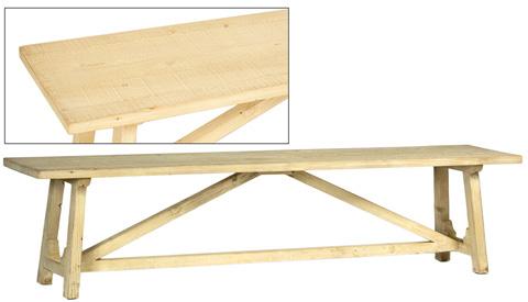 Dovetail Furniture - Cavendish Bench - DOV9849