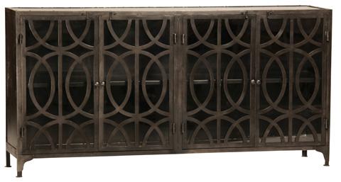 Dovetail Furniture - Bragg Metal Sideboard - AP145