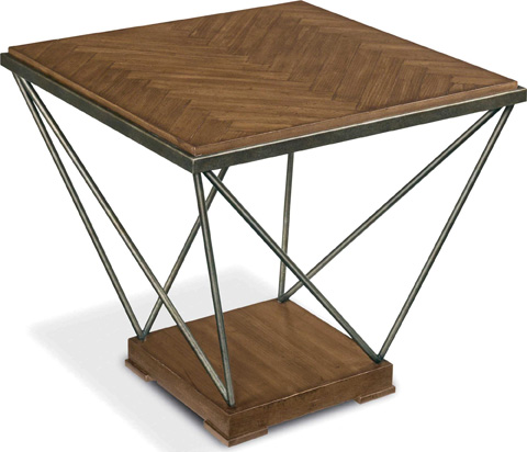 Drexel Heritage - Herringbone End Table - 640-841