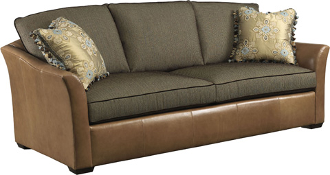 Drexel Heritage - Arabella Leather and Fabric Sofa - L20014-S