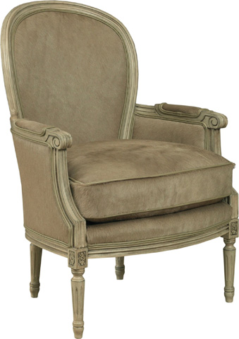 Drexel Heritage - Beasley Leather Chair - L369-CH