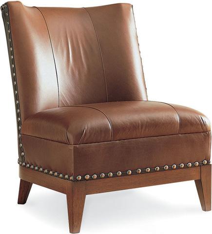 Drexel Heritage - Rachelle Leather Chair - L375-CH
