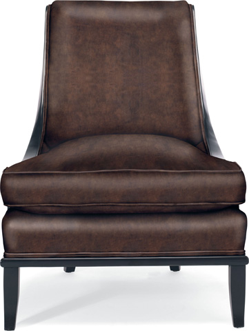 Drexel Heritage - Runway Leather Armless Chair - L495-CH
