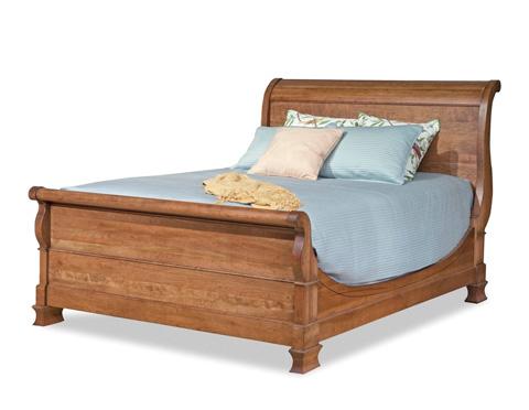 Durham Furniture Inc - Master Queen Sleigh Bed - 112-129