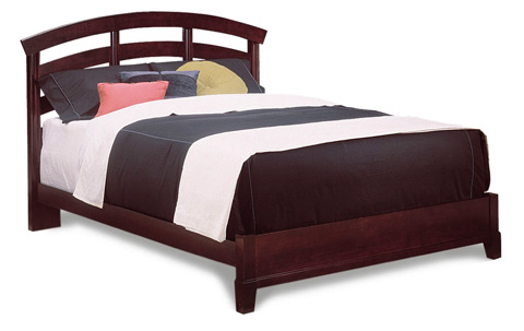 Durham Furniture Inc - Queen Slat Bed - 227-120
