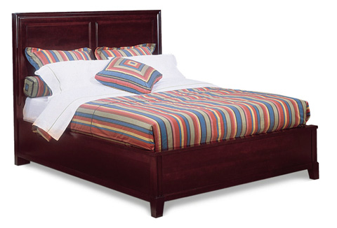 Durham Furniture Inc - Queen Panel Bed - 227-134