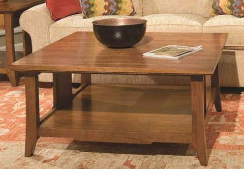 Durham Furniture Inc - Westwood Square Cocktail Table - 900-505S