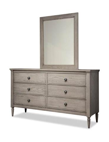 Durham Furniture Inc - Double Dresser and Mirror - 142-172/142-181