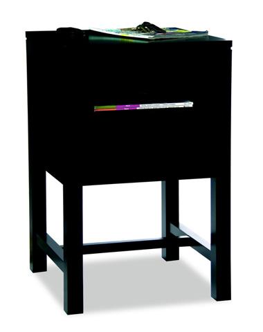 Durham Furniture Inc - Contemporary Open Nightstand - 900-205A