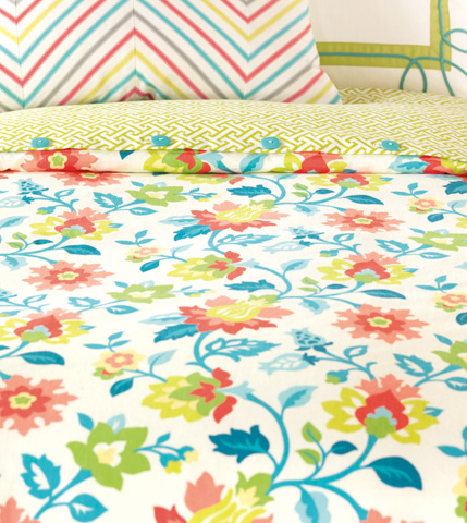 Eastern Accents - Arcadia Duvet Cover And Comforter -King - DVK-336