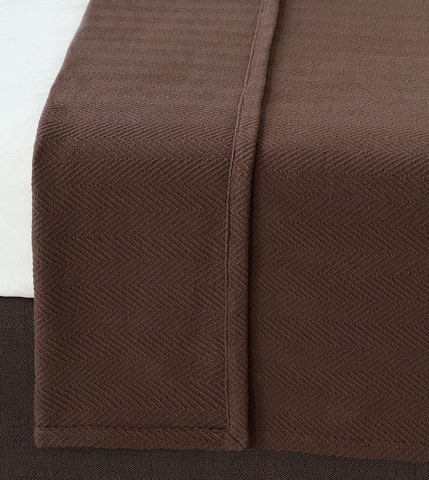 Eastern Accents - Bozeman Brown Coverlet -King - CVK-361-D