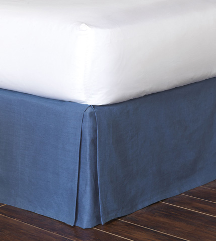 Eastern Accents - Breeze Sapphire Bed Skirt -King - SKK-368