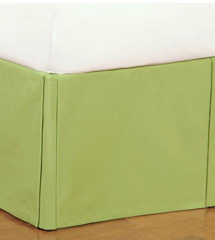 Eastern Accents - Harley Lime Bed Skirt -King - SKK-372