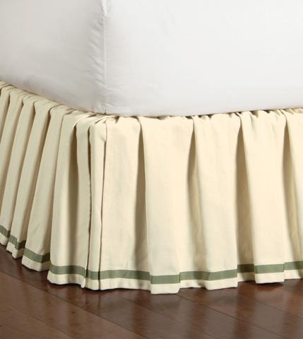 Eastern Accents - Komodo Cotton Skirt -King - SKK-208