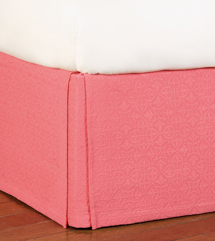 Eastern Accents - Mea Coral Bed Skirt -King - SKK-325