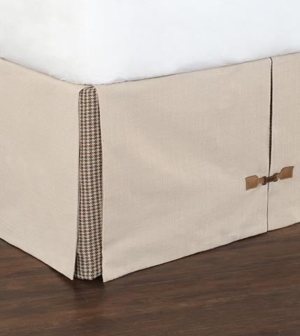 Eastern Accents - Vivo Bisque Bed Skirt -King - SKK-359
