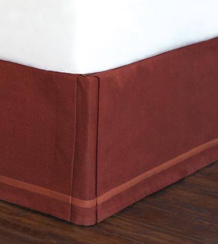 Eastern Accents - Walden Berry Bed Skirt -King - SKK-361-I