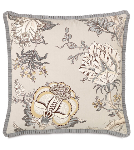 Eastern Accents - Edith With Pleated Ribbon Pillow - EDI-03