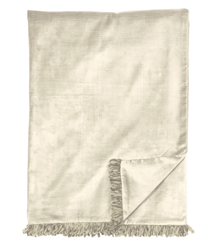 Eastern Accents - Lucerne Ivory Throw - THO-151