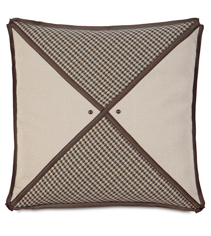 Eastern Accents - Woodside Oak Triangle Inserts Pillow - AID-11