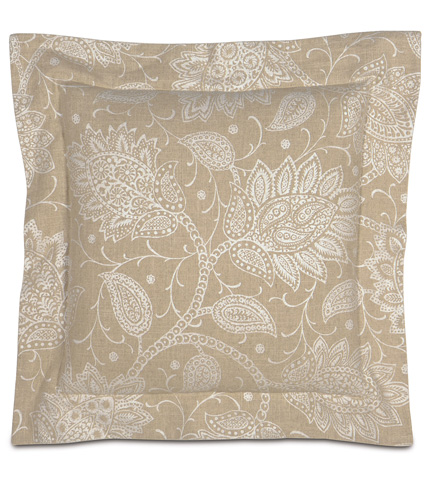 Eastern Accents - Aileen Pillow with Double Flange - AIL-03